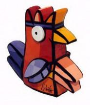 Vreemde Vogel II (rood)