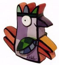 Vreemde Vogel IV (paars)