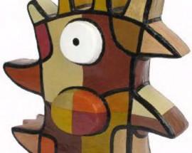 Vreemde Vogel XI (goud)