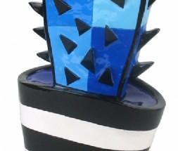 Cactus blauw (klein)