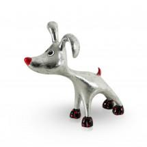 Stretching Dog Billie Silver