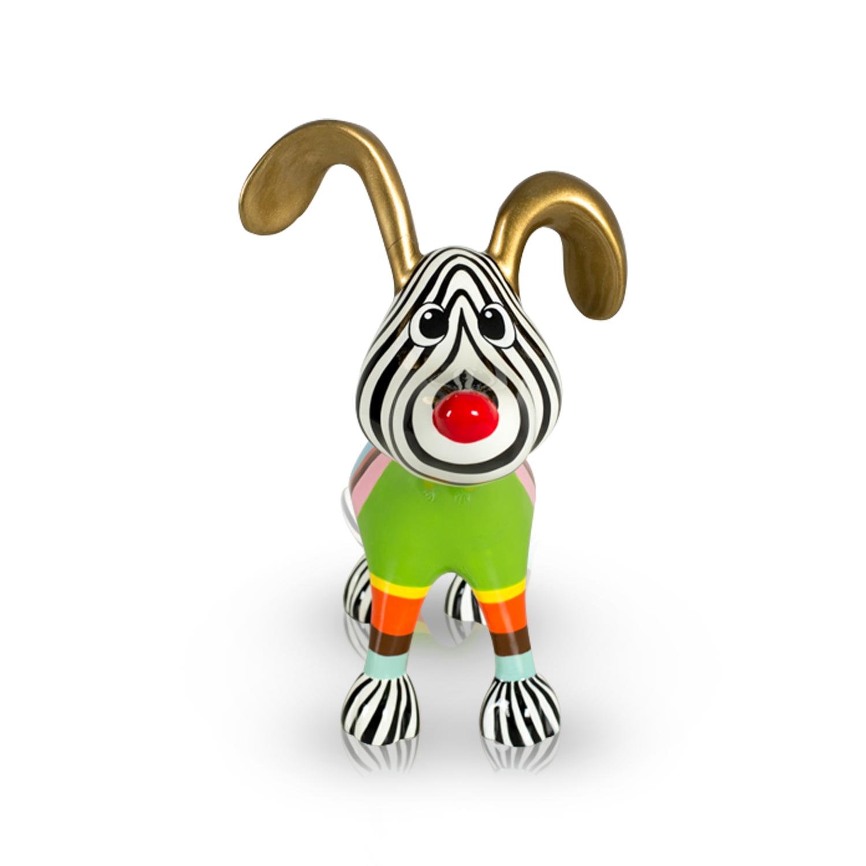 Stretching Dog Billie Multicolor