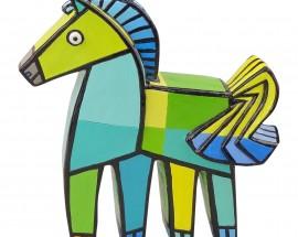 Happy horse Groen