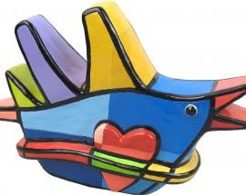 Lovebird Blauw