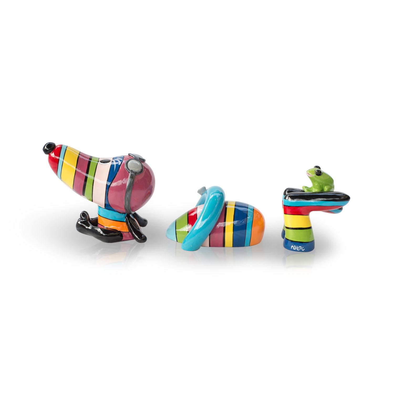 Swimming Hot Dog Rainbow S