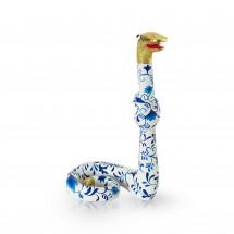 Standing Snake Delftsblauw L
