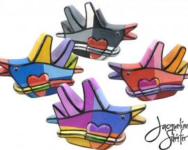 Lovebird Grijs