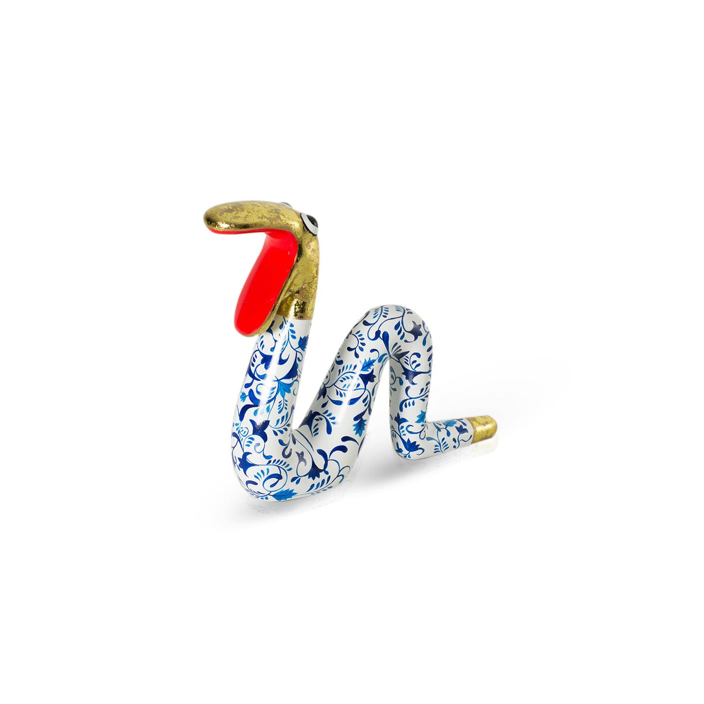 Moving Snake Delftsblauw M