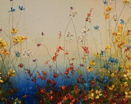 Bloemen veld